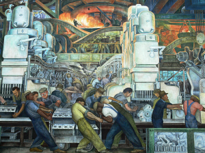 Diego Rivera, Detroit Mural (detail)