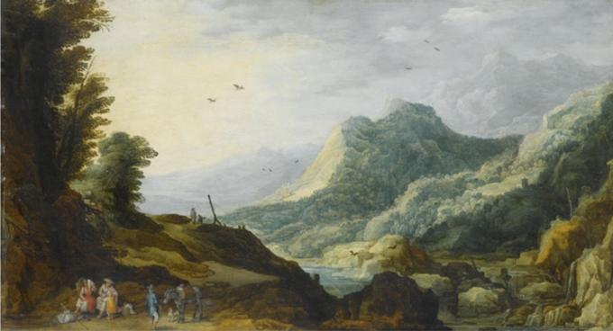 """""""Paysage Montagneux"""" by Joos de Momper"""