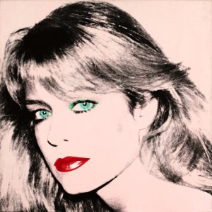 Andy Warhol's portrait of Farrah Fawcett (1980) caught in a dispute between Ryan O'Neal and the University of Texas.
