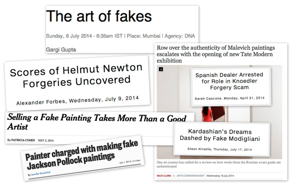 Infamous Piracy: How the Lucrative Market for Forgeries is Transforming the World of Fine Art