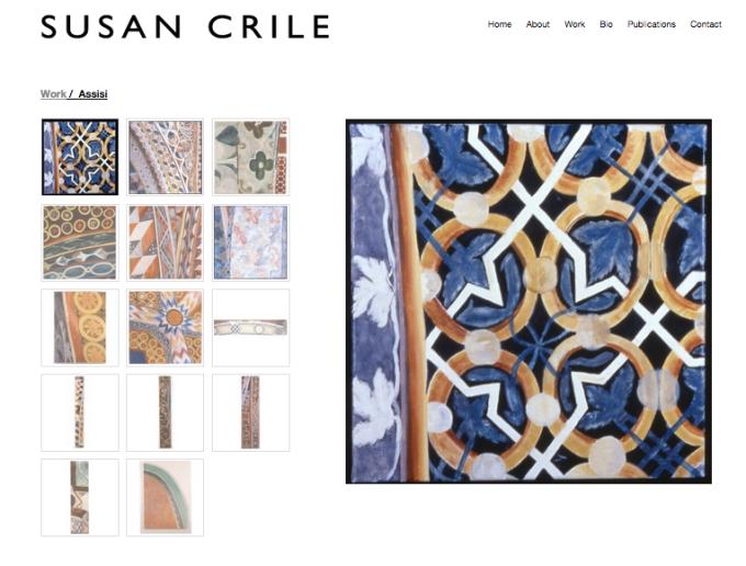 Susan Crile Website