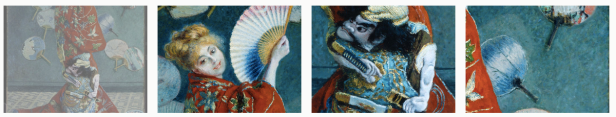 "Monet ""La Japonaise (Camille Monet in Japanese Costume)"" (1876). On View a MFA (56.147)."