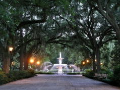 Forsyth Park, Savannah, courtesy of the National Park Service