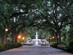 Forsyth Park, Savannah, courtesy of the National Park Service