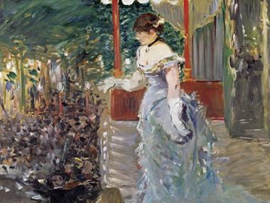 Manet Chanteuse de Cafe Concert, La